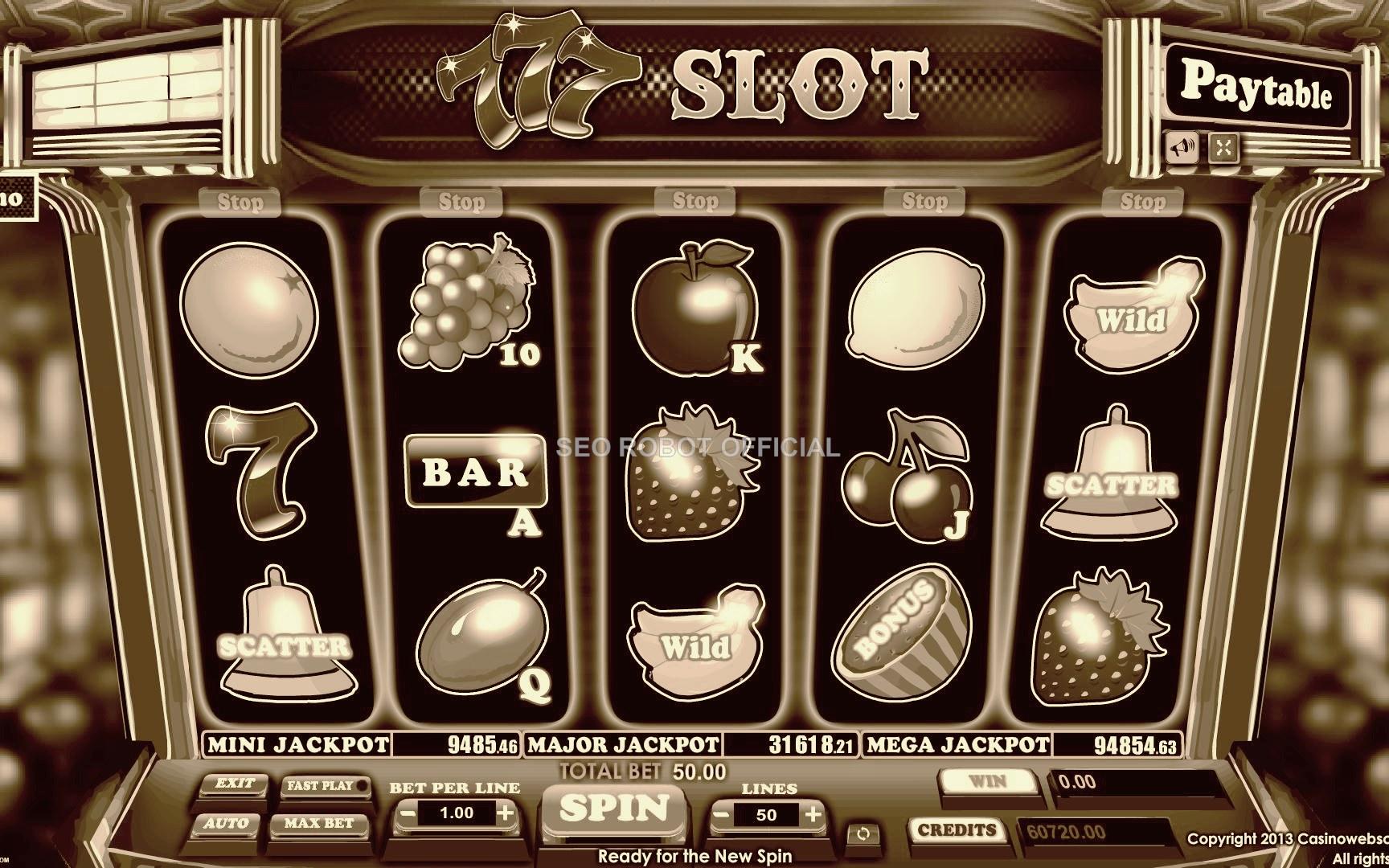 Daftar Istilah dalam Permainan Slot Online